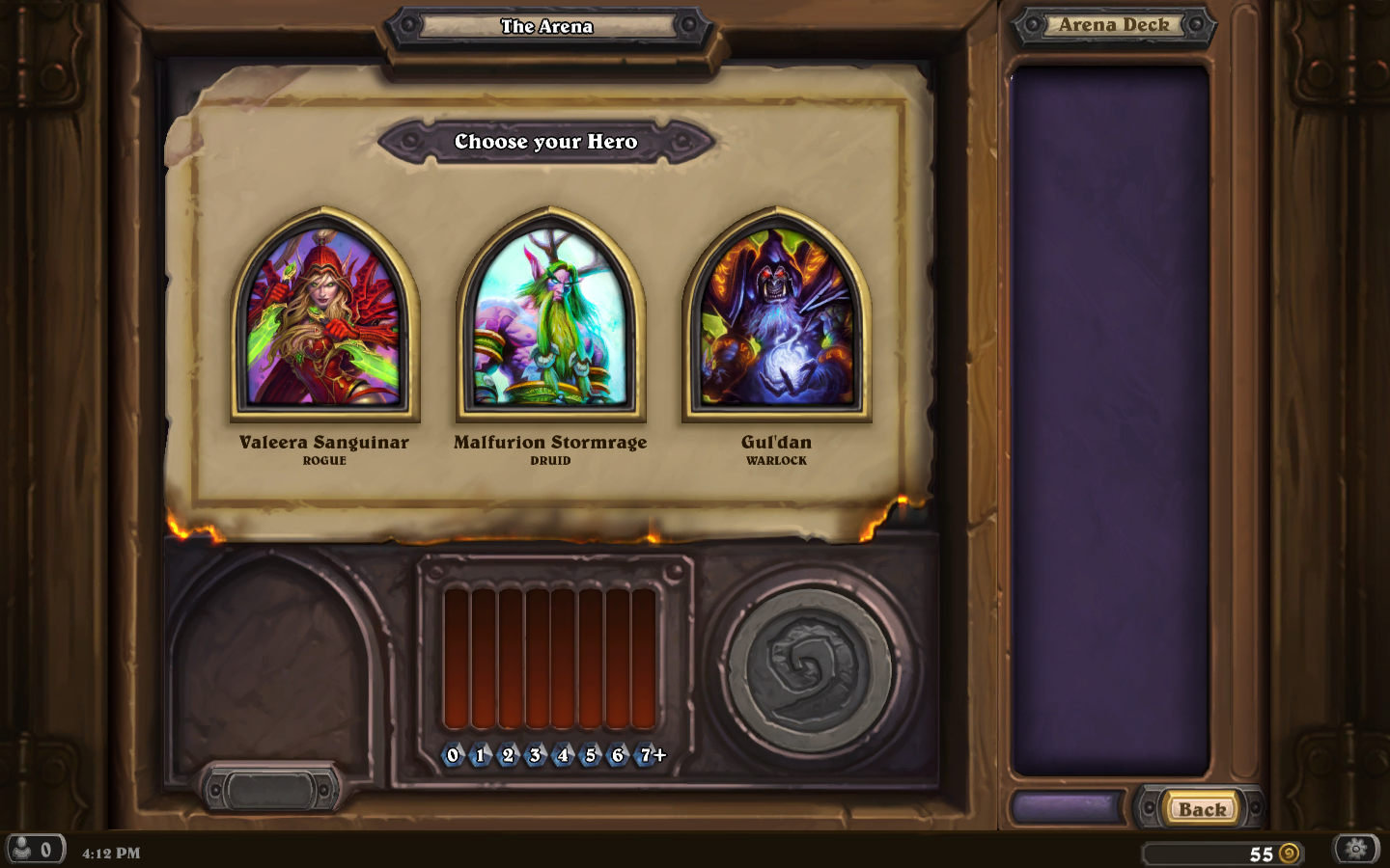 Day 6 Arena Choices